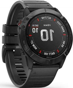 Garmin Fenix 6X Sapphire, Premium Multisport GPS Watch, feat
