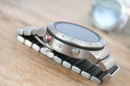 Garmin Fenix Chronos GPS Fitness Watch w/ Titanium Hybrid Ba
