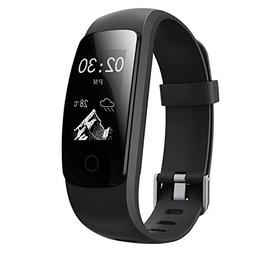 AUSUN Fitness Tracker, 107 Plus Heart Rate Monitor Waterproo
