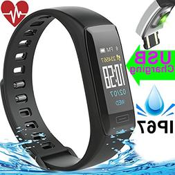 fitness tracker heart rate blood