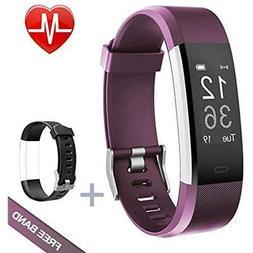 Lintelek Fitness Tracker, Heart Rate Monitor Activity Tracke