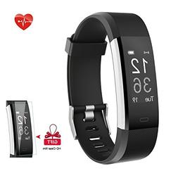 Fitness Tracker AIEX Heart Rate Monitor Smart Watch With Con