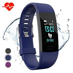Apirka Fitness Tracker HR, Activity Tracker Watch with Heart