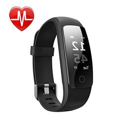Fitness Tracker HR, Letscom Activity Tracker with Wrist Base
