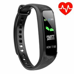Fitness Tracker Smart Watch IP68 Waterproof Activity Heart R