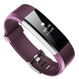 Fitness Tracker with Heart Rate Monitor,Activity Tracker Blu