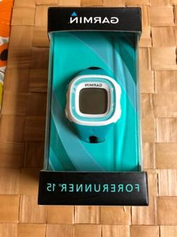 forerunner 15 gps watch small teal white