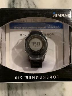 Garmin Forerunner 210 GPS Watch - Black - New Open Box