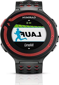 GARMIN Forerunner 220 Watch HRM Bundle, Black/Red