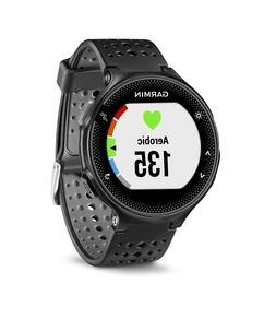 Garmin Forerunner 235 Black Silicone Band GPS Heart Rate Wat