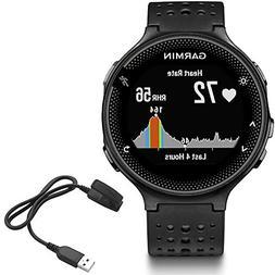 Garmin Forerunner 235 GPS Sport Watch - Black/Gray - Chargin