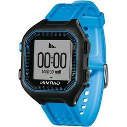 Garmin Forerunner 25 GPS Running Watch Black/Blue Size Large