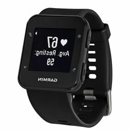 forerunner 35 black gps sport watch wrist