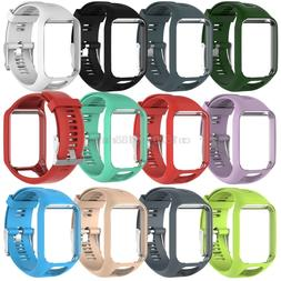 Free delivery Silicone Replacement Wrist WatchBand <font><b>
