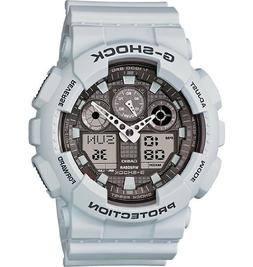 Casio G-Shock Big Case Digital-Analog GA100 Watch in Ice Gra
