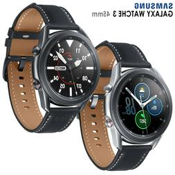 Samsung Galaxy Watch 3 SM-R840  Wi-Fi Smartwatch Leather Sta