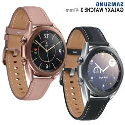 Samsung Galaxy Watch 3 SM-R850  Wi-Fi Smartwatch Leather Sta