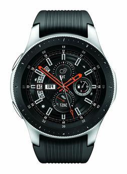 Samsung Galaxy Watch SM-R800 46mm Silver Case Classic Onyx B