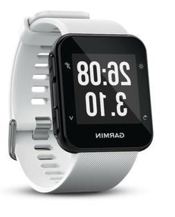 garmin 35 gps running watch white activity
