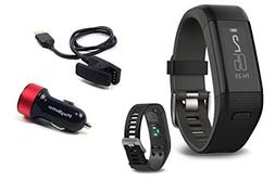 Garmin Approach X40  Golf GPS & Fitness Band Bundle with Pla