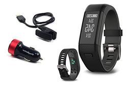 PlayBetter Garmin Approach X40  Golf GPS & Fitness Band Bund
