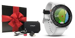 Garmin Approach S60  Gift Box Bundle | Includes Multi-Sport