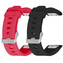 Garmin Fenix 5 Bands, SKYLET 2 Pack Silicone Replacement Acc