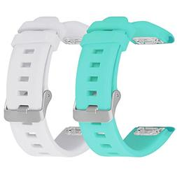 SKYLET Garmin Fenix 5 Bands, 2 Pack Silicone Replacement Acc