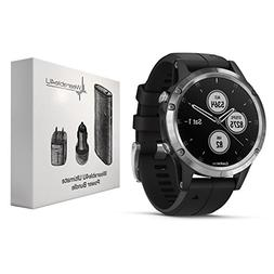 Garmin Fenix 5 Plus Premium Multisport GPS Watch with Maps,