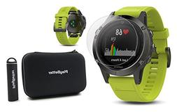 Garmin fenix 5  POWER BUNDLE | Includes HD Glass Screen Prot