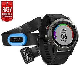 Garmin Fenix 5 Sapphire Multisport 47mm GPS Watch Performer