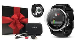 Garmin Fenix 5S  Gift Box Bundle | Includes HD Screen Protec