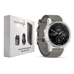 Garmin Fenix 5S Plus Premium Multisport GPS Watch with Maps,