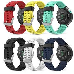 Garmin Forerunner 235 Watch Band, MoKo  Soft Silicone Replac