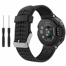 Garmin Forerunner 235 Watch Band, MoKo Soft Silicone Replace