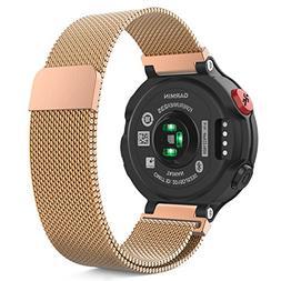 Garmin Forerunner 235 Watch Band, MoKo Milanese Loop Stainle