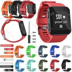 For Garmin Forerunner 35 Fashion Silicone Wrist Strap Watch