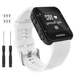 Garmin Forerunner 35 Watch Band, MoKo Soft Silicone Replacem