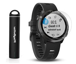 Garmin Forerunner 645 Music  Running GPS Bundle | Includes H