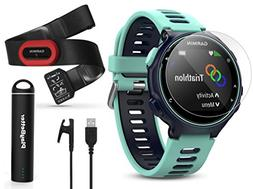 Garmin Forerunner 735XT  Power Bundle | Includes HRM-Run Che