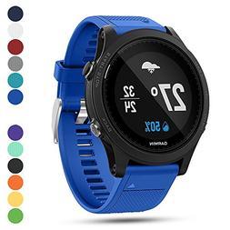 Garmin Forerunner 935 GPS Accessory Watch Band,Feskio 22mm W