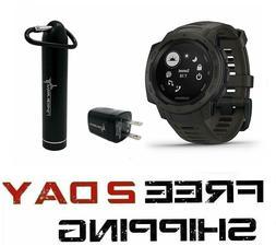Garmin Instinct Rugged GPS Watch and Wearable4U Ultimate Pow