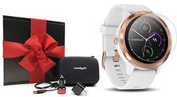 Garmin vivoactive 3  Gift Box Bundle   Includes HD Screen Pr