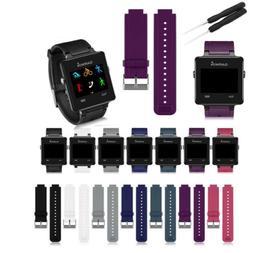 For Garmin VivoActive GPS Silicone Wristband Watch Band Stra