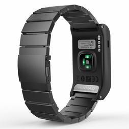 MoKo Garmin Vivoactive HR Watch Band, Universal Stainless St