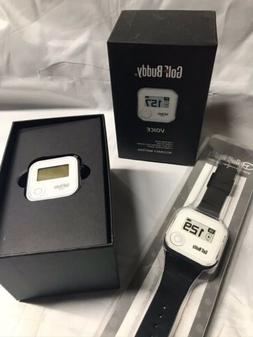 GOLF BUDDY Voice GPS w/GOLF BUDDY WRISTBAND NEW!!