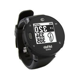 Golf Buddy Voice X GPS Watch, Black