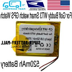 3.8V 520mAh Rechargeable Battery for Golf Buddy WT3 GPS Watc