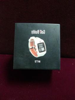 Golf Buddy WT5 GPS/Range Finder Watch White/Orange mint open