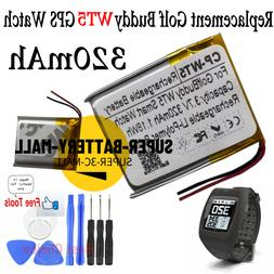 For Golf Buddy WT5 Smart watch GPS Wach 320mAh Rechargeable